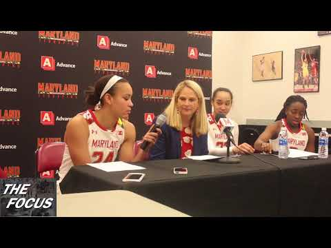 Maryland Post Game after Win over Albany