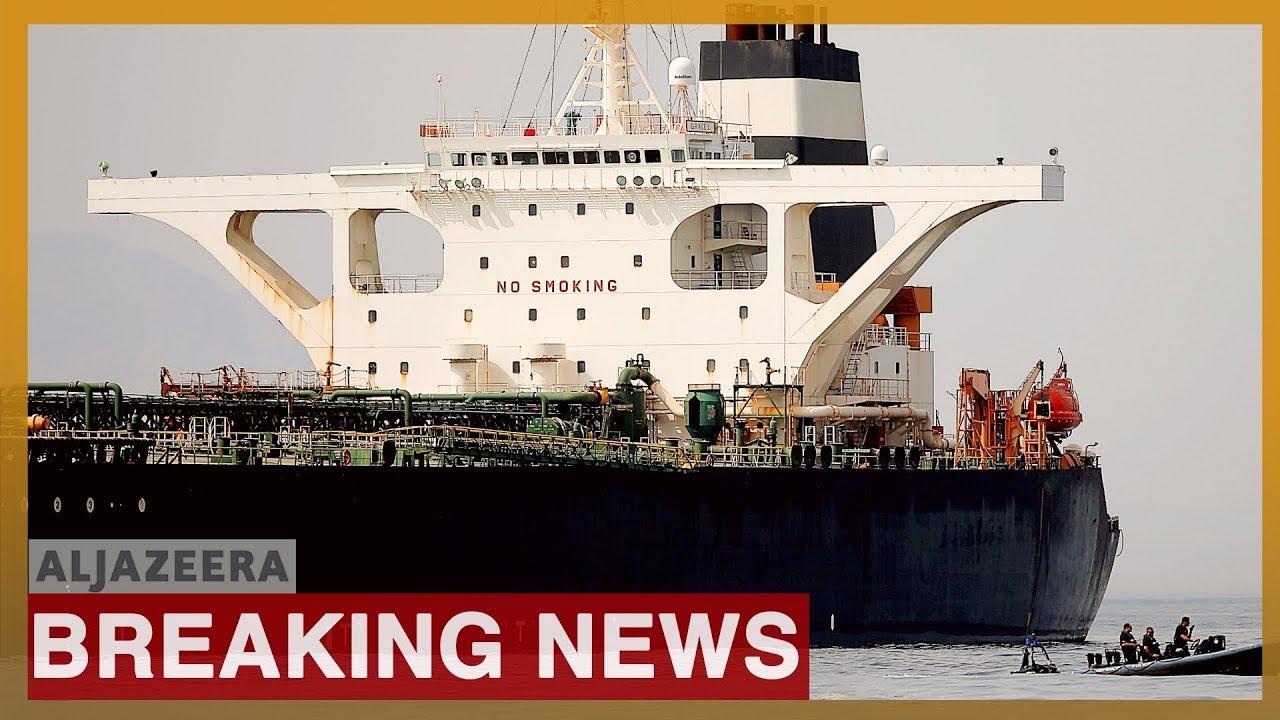 AlJazeera English:US wants to seize Iranian tanker captured by UK