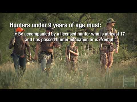 Proof Of Hunter Education - Texas Parks & Wildlife [Official]