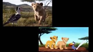 Le Roi Lion comparaison 2019 vs 1994 FR