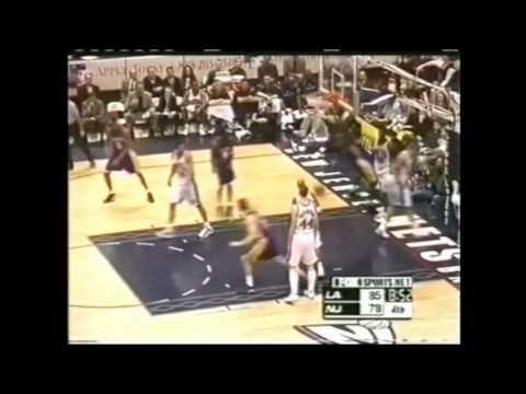 Kobe Bryant 38 Points (Amazing Game-Winner) vs New Jersey Nets - Highlights 13/02/2001