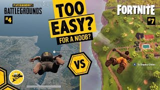 Are Battle Royale Games Too Easy for Beginners? PUBG vs Fortnite
