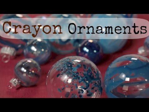 Diy Crayon Melting Ornament Christmas Amp Holidays How