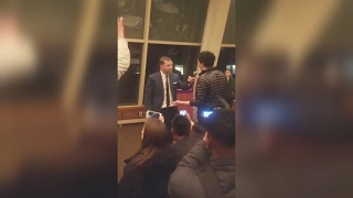 Gavin McInnes at NYU Attacked by Unwashed Brown Shirts 2-2-17