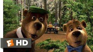 Yogi Bear (2/10) Movie CLIP - Getting Caught (2010) HD