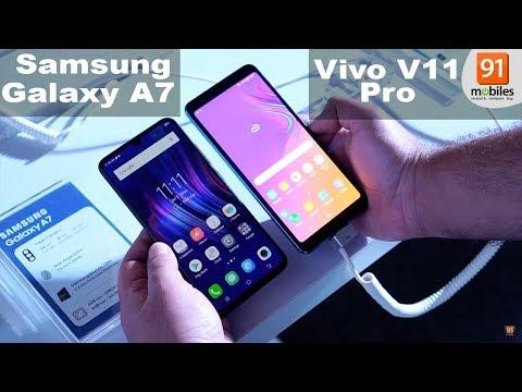 Samsung Galaxy A7 2018 vs Vivo V11 Pro: Comparison overview