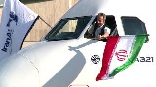 أخبار عربية: أول طائرة ايرباص ايرانية جديدة تصل الى مطار طهران