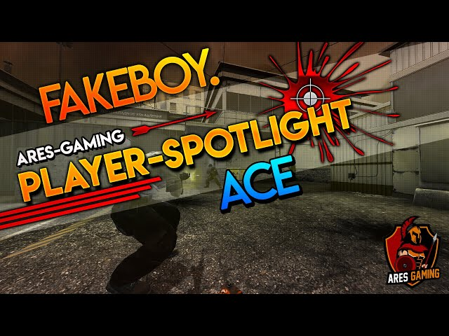 Player-Spotlight: fakeboy is LIT 🔥 AK-47 ACE on de_cache  CS:GO by Ares Gaming