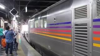 【推進回送】カシオペア紀行上野駅を警笛鳴らして発車!