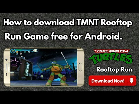 teenage mutant ninja turtles rooftop run apk
