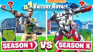 SEASON 1 VS Brute MECH in Fortnite!