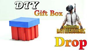 How To Make Pubg Airdrop At Home  DIY Pubg Drop Gift Box  Pubg Crafts  Basic Craft