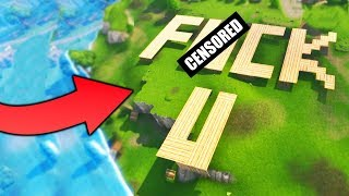 Gambar cover GIANT *OFFENSIVE* BUILDING TROLL - Fortnite Battle Royale