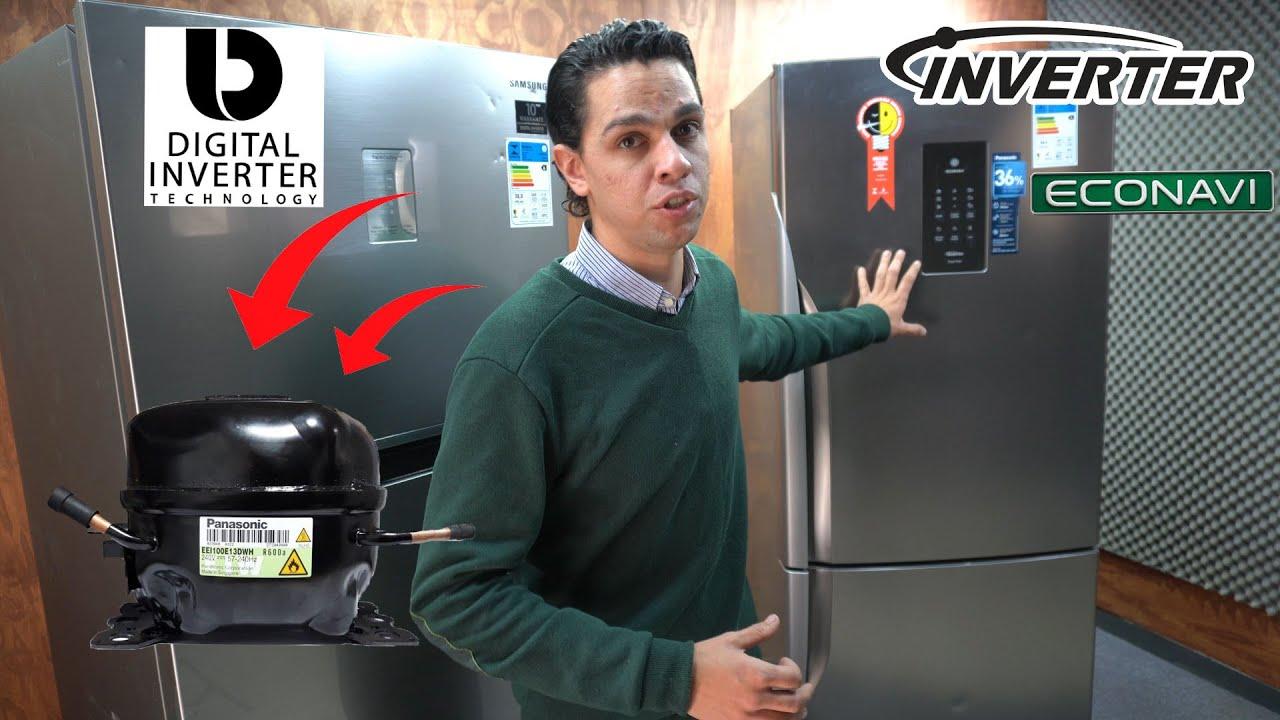 TUDO SOBRE GELADEIRA INVERSE E INVERTER  EM MENOS DE 7 MINUTOS, SAMSUNG E PANASONIC !