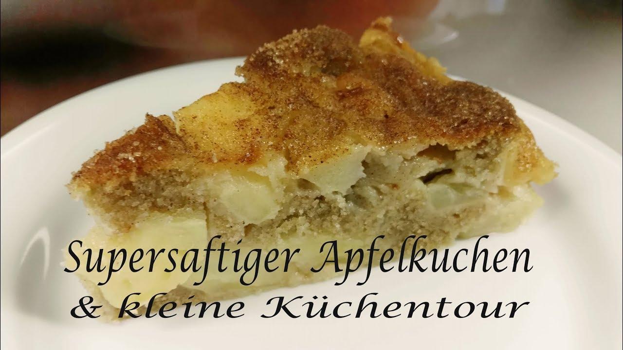 Thermomix Tm5 Supersaftiger Apfelkuchen Mit Kleiner Küchentour