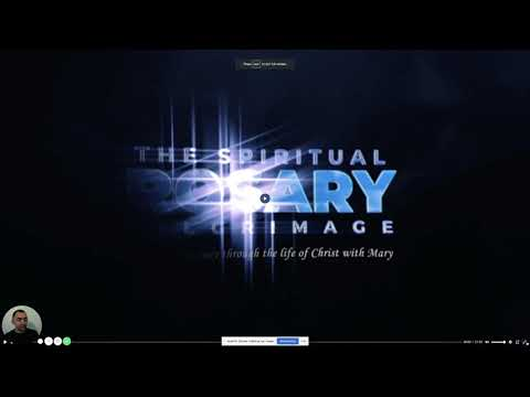 Explainer Video on how to access the Spiritual Rosary Pilgrimage Videos