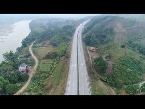 Con đường về quê Hương Lang Thíp – Văn Yên- Yên Bái- Sạt lở tại Lâm giang