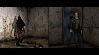 Silent Hill 2 PC — Blue Creek bossfight scene /w different camera angles