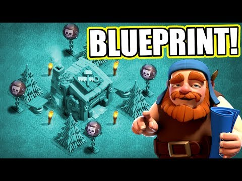 "Thumbnail: UNSTOPPABLE BUILDERS HALL 7 BASE! ""THE BLUEPRINT"" - Clash Of Clans"