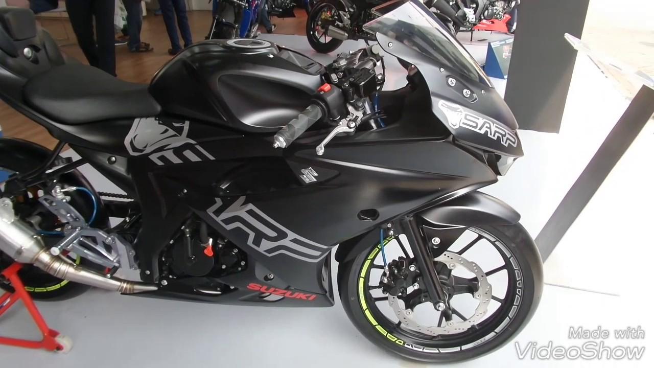 Modifikasi Suzuki Gsx R150 Sarp Motoengine Com Youtube