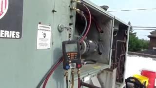 Rheem two stage rooftop AC compressor change