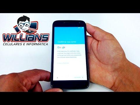 Como Desbloquear Conta Google ( Gmail ) Motorola Moto G4, G4 Play e Outros