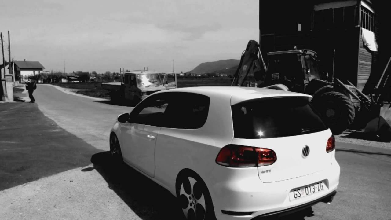 gabrek tuning vw golf 6 gti milltek race catback youtube. Black Bedroom Furniture Sets. Home Design Ideas