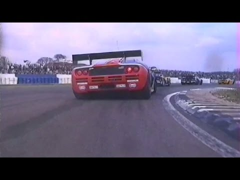 On-board the McLaren F1 GTR - Silverstone - 1996 BPR Global GT Endurance Series