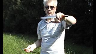 Техника владения ножами.