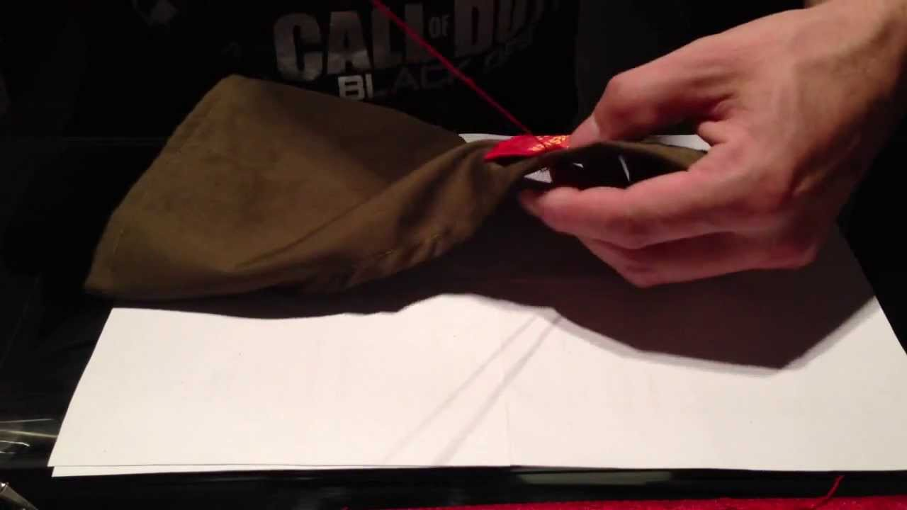 How to sew an Army Cadet badge onto a brassard