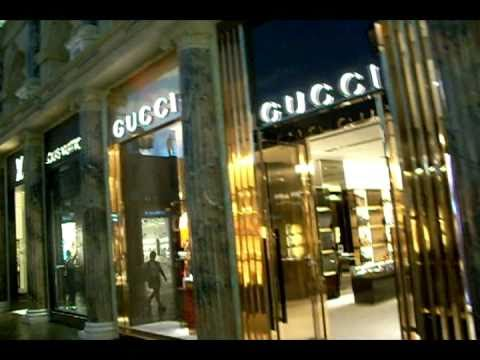 the gucci store las vegas youtube