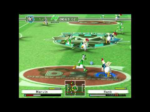 Disney Sports Soccer - Gameplay Gamecube HD 720P (Dolphin GC/Wii Emulator)
