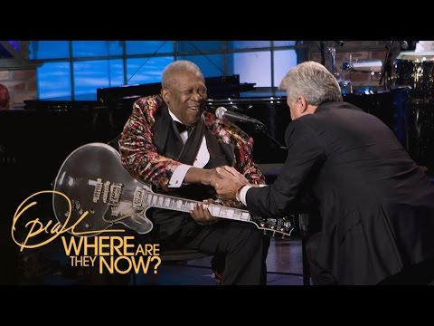 "Kevin Eubanks' ""Embarrassing"" Exchange with BB King  Where Are They Now  Oprah Winfrey Network"
