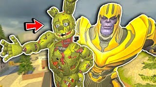 New Fortnite Springtrap Dancing Pill Pack! - Garry's Mod Gameplay - Five Nights at Freddy's Gmod