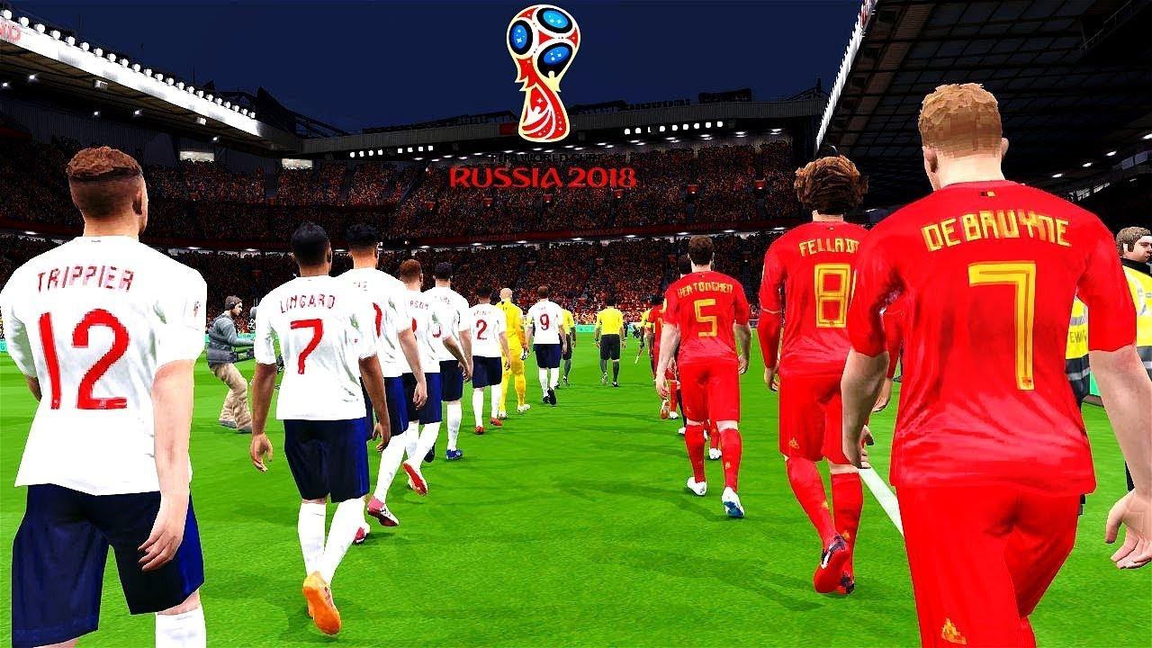 Belgium vs England - FIFA World Cup Russia 14 July 2018 ...