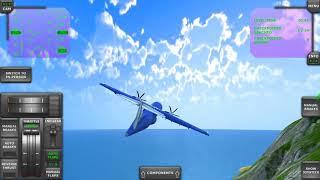 Turboprop Flight Simulator 3D #9 SALT AirPlane Android Gameplay