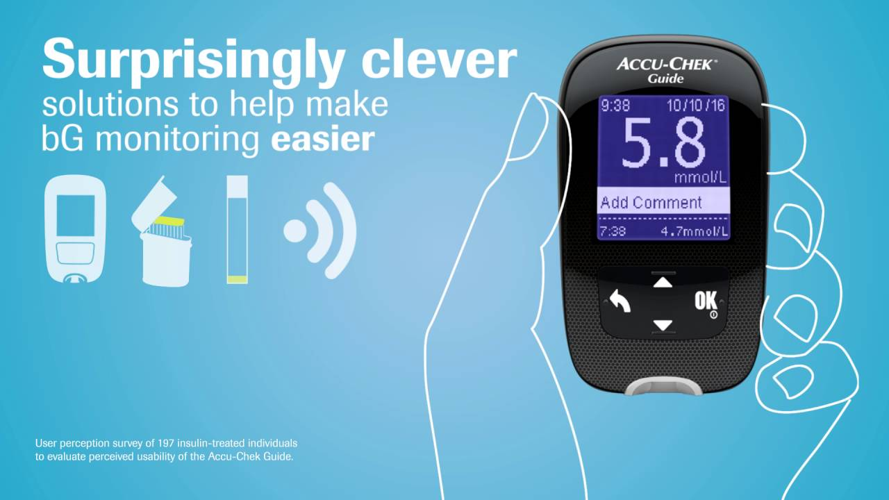 Accu Chek Guide The Wireless Blood Glucose Monitoring