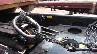 Roll Off Trailer BENLEE TWO BOX - How It Works