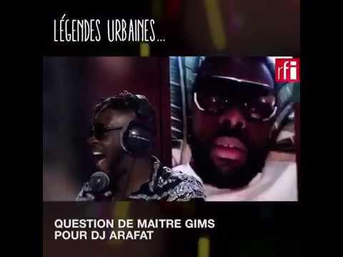 Maître GIMS demande DJ Arafat d'où vient son inspiration ?? 🔊🔊