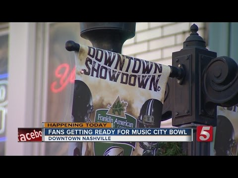 Thousands Expected For Music City Bowl