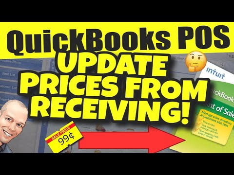 QuickBooks POS: Update Prices From Receiving Voucher