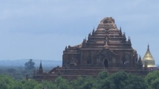Raw: Ancient Pagodas Damaged in Myanmar Quake