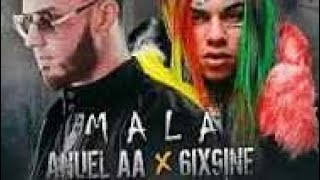 6ix9ine - MALA feat Anuel AA (Video Official Lyrics)