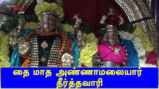 தை மாத அண்ணாமலையார் தீர்த்தவாரி | Thiruvannamalai | Britain Tamil Bhakthi