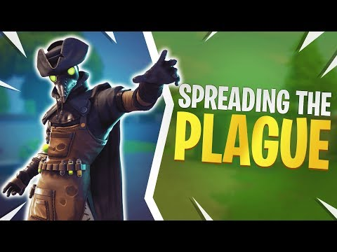 Spreading The Plague - Fortnite Battle Royale Gameplay (Fortnite Plague Skin Gameplay)