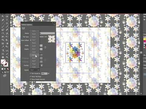 Illustrator CC tutorial: Applying and editing pattern fills | lynda.com