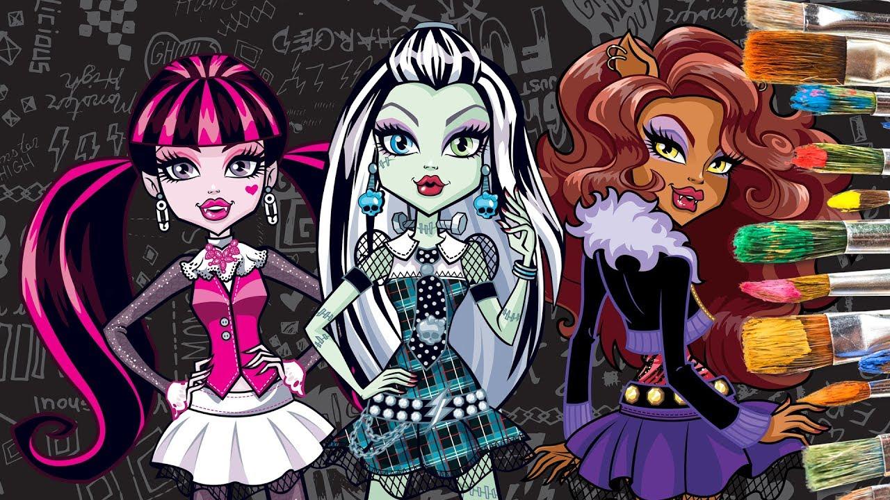 Monster High Frankie Clawdeen Draculara