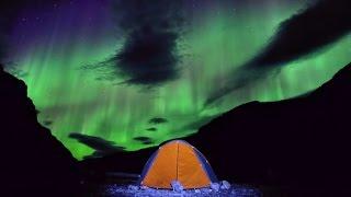 Northern Lights on the Nahanni