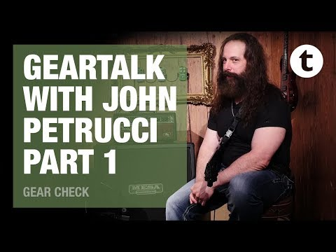 John Petrucci | Dream Theater | Gear Talk | Part 1: Ernie Ball & Music Man | Thomann