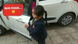 Prisha verma's school dairy | St. Stephen school Chandigarh | little baby going school | school days